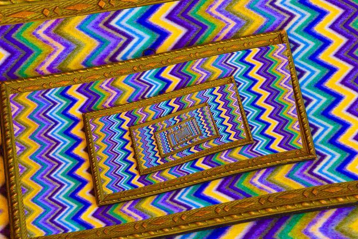 effect droste  of a vintage  frame - susanna mattioda