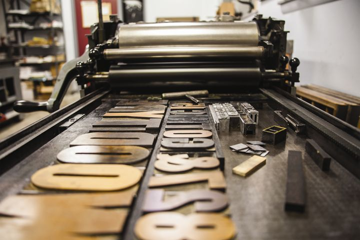 Letterpress - Tian's Gallery