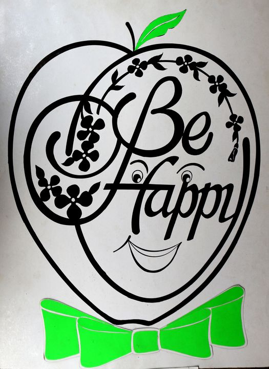 Be Happy - My Hands Are Blessed Crafts