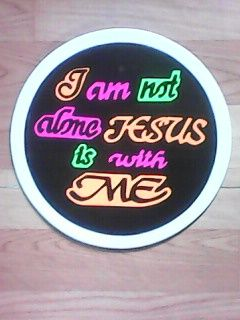I am not alone. - My Hands Are Blessed Crafts