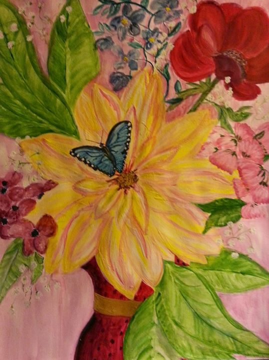 Butterfly Is Free - Fun With Art