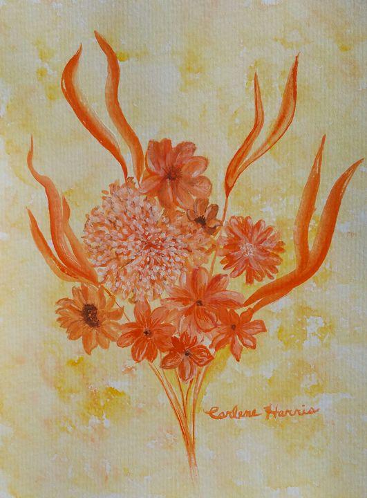 Wildflower Bouquet - Fun With Art