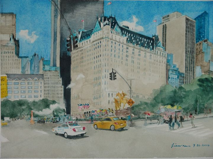 5th Ave. & Grand Army Plaza in NYC - Taqian