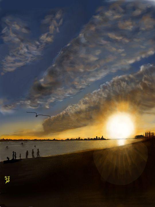 Southsea Sunset - Sarita Jarrett