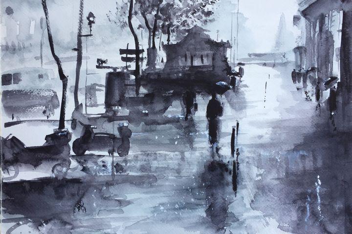 Rainy Day in Paris - Rieve