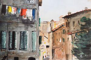 Laundry Day in Livorno