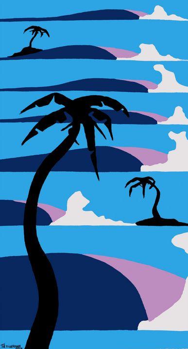 Purple Simple Wave - SeaForYourself