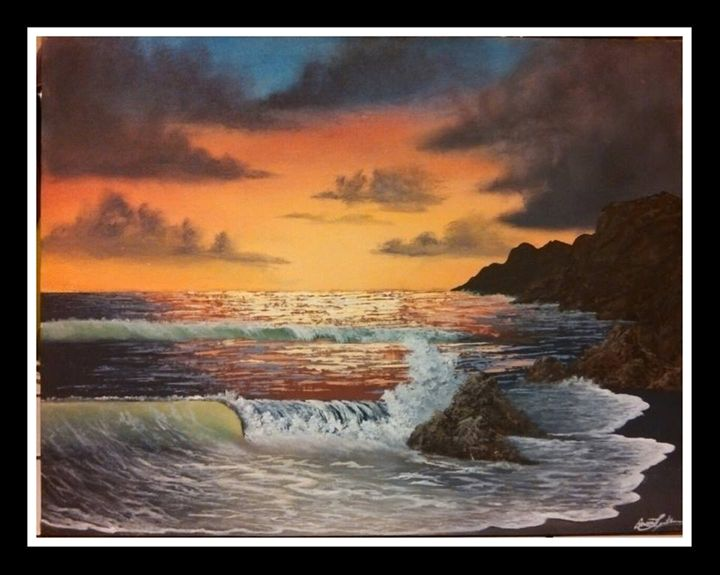 Waves of the Sun - serenity colors gallery