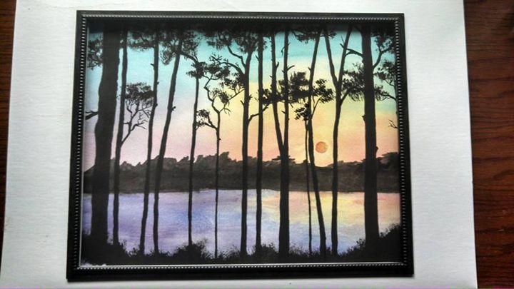 Evening Skies - serenity colors gallery
