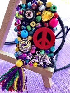 Peace, Balance and Fortune Pendant - Mindful Pendants
