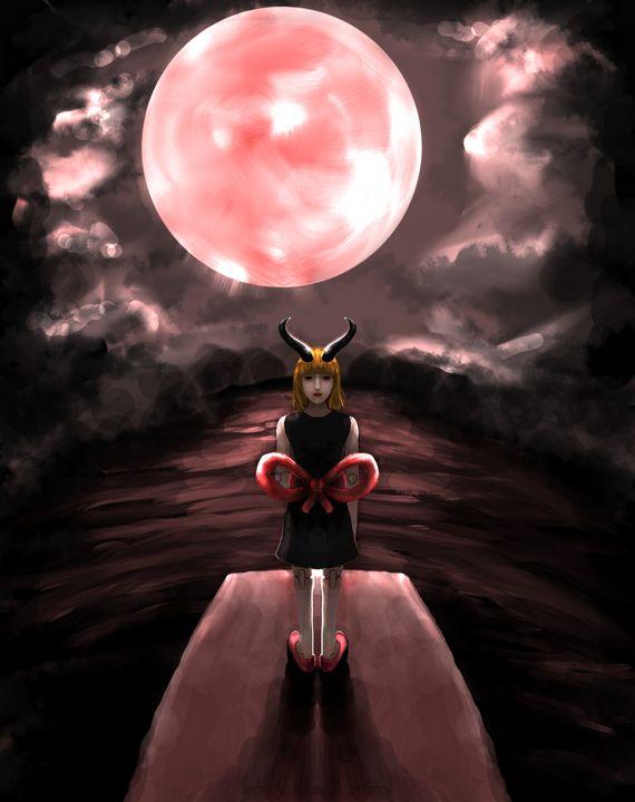 Symphony of moonlight - Noname Art