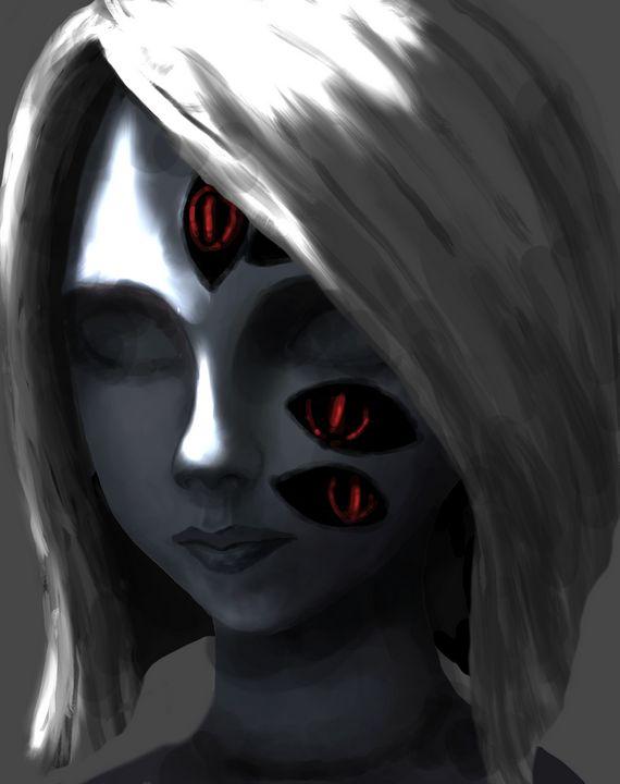 magic in her eyes - Noname Art