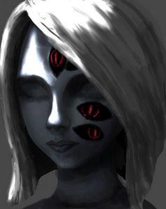 magic in her eyes