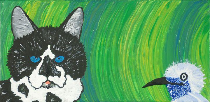 Bird Eye'ing Kitty - Narcoplexic
