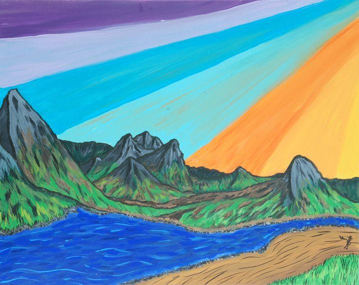 Colorful Sunset Scene - Narcoplexic