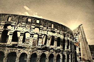 Colosseum in Sepia