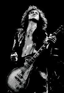 Jimmy Page Black&White Print