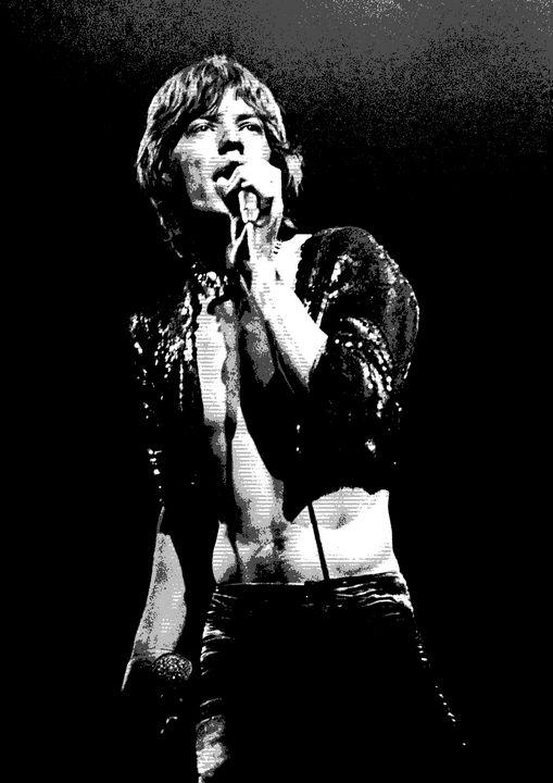 Mick Jagger Print - RASK