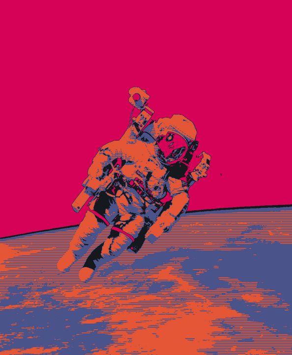 Space Negative Print. - RASK