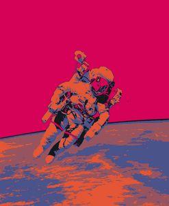 Space Negative Print.