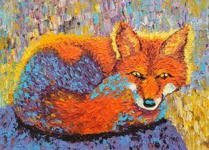 Relaxed Fox - Kalashnikoff
