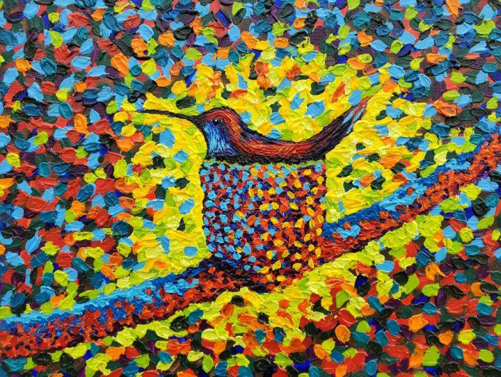 Hummingbird Nest - Kalashnikoff