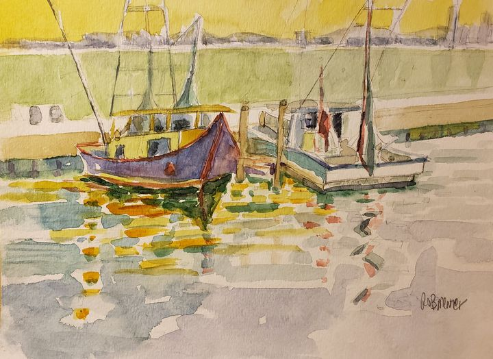 Gulf, Low Tide - Rob Menter Fine Art