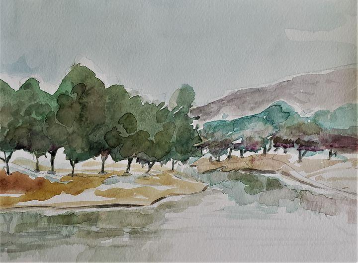 Quiet Pond - Rob Menter Fine Art