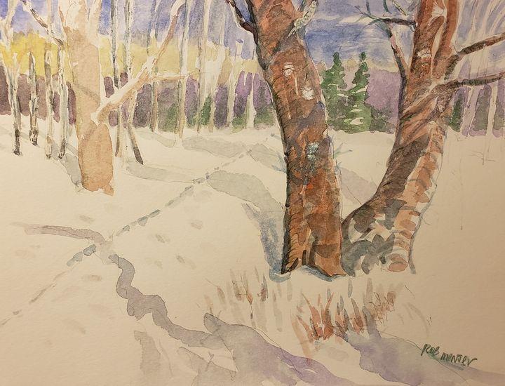 Winter Afternoon 1 - Rob Menter Fine Art