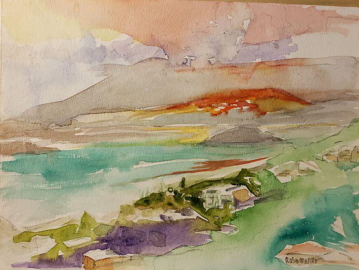 St Thomas Dawn - Rob Menter Fine Art