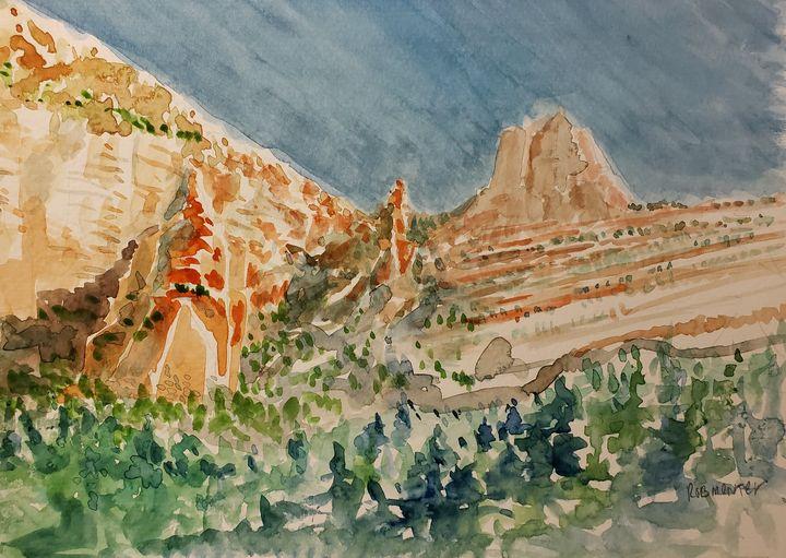 Sedona Formations - Rob Menter Fine Art