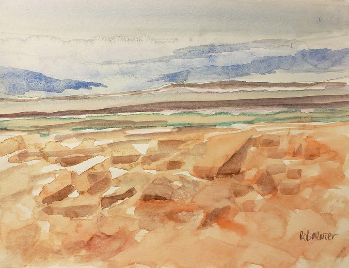 Southwestern Rocks - Rob Menter Fine Art