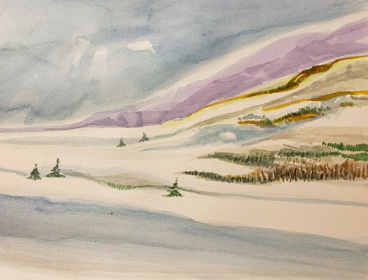 Mountain Air #2 - Rob Menter Fine Art