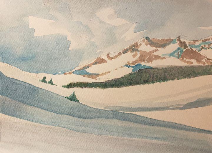 Mountain Air # 1 - Rob Menter Fine Art