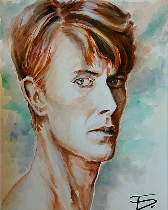 Bowie - Tal Dvir Fine Art