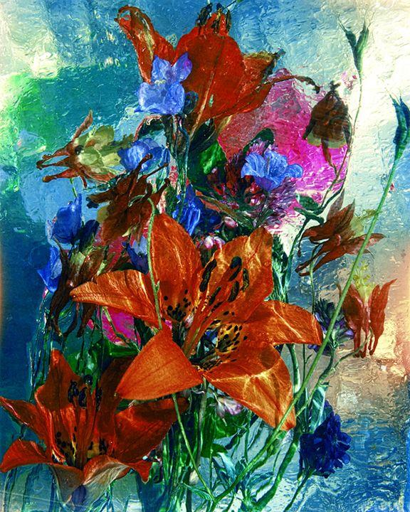 Wild Flower Ice Series 7 - andrzej pluta