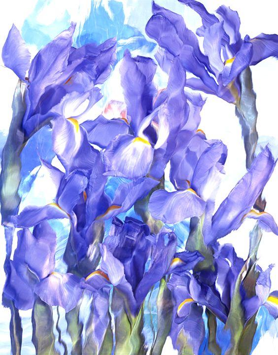 Wild Flower Ice Series 2 - andrzej pluta
