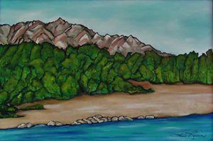 Rio Grande River, New Mexico - Lois F Rivera, Artist