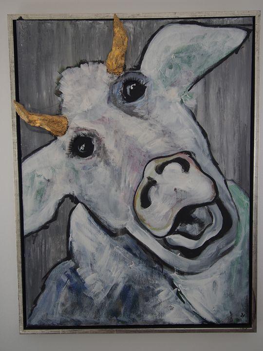 "Moody cow ""Crazy"" -  Anouschka"