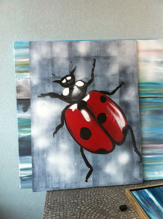 "bug series ""ladybug"" -  Anouschka"