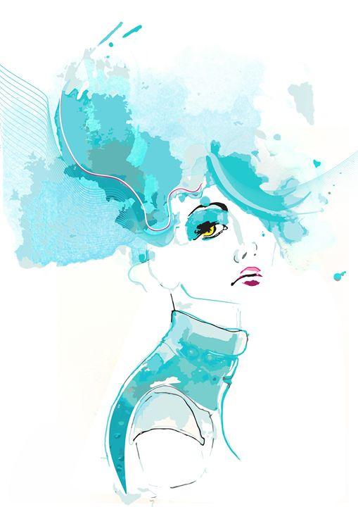 Girl's Portrait - Alina N