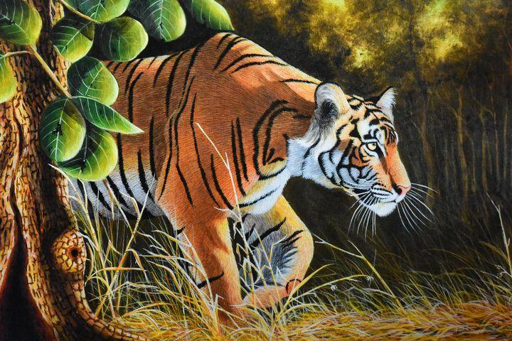 Ambush Tiger - Wild Life