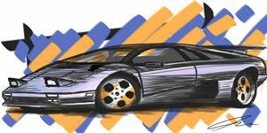 1995 Lamborghini Diablo VT - Dezzigner_Inc