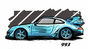 RAUH-Welt BEGRIFF Porsche 993