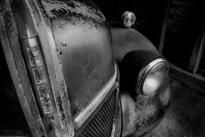 Hood of truck - Gregg's Americana