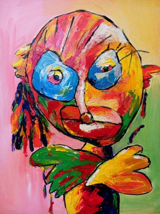 Girl 3 - The little artist
