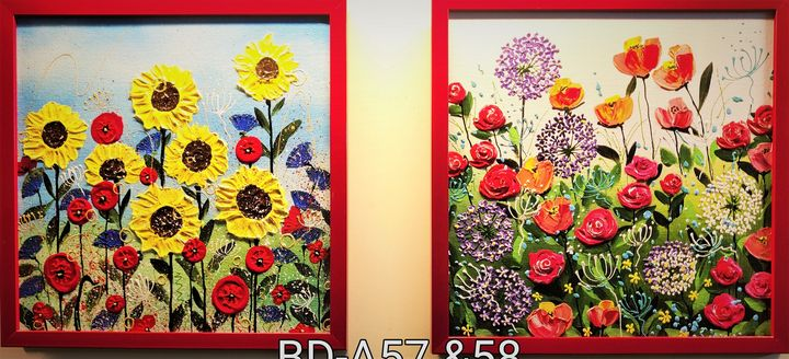 Bloomingdales A57 & A58 - Geetu Thakur Art
