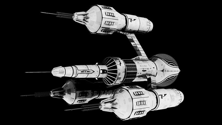 Liberator DSV2 B&W - Blake's 7