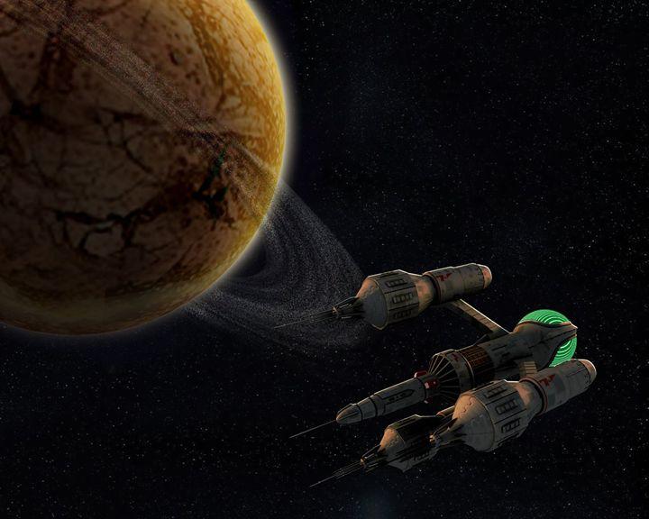 Liberator in Orbit - Blake's 7