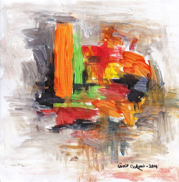 abstract city 13 - Ümit ÖZKANLI
